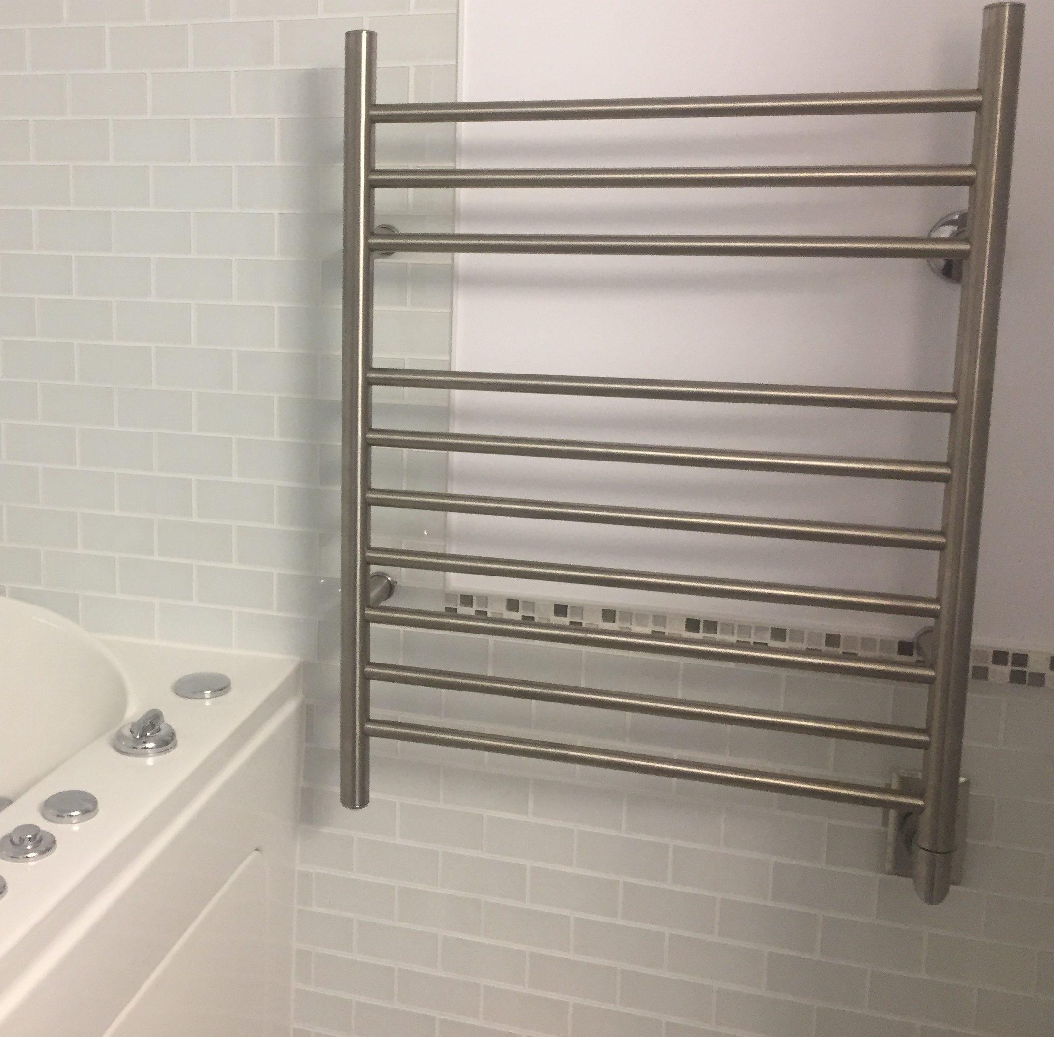 electrician bathroom reno