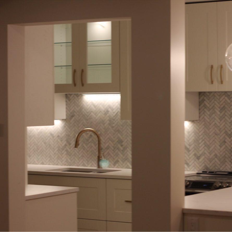 Kitchen reno luminous